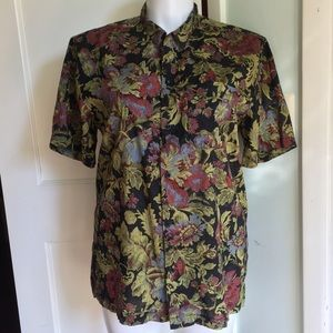 Urban Outfitters Floral Button Down Shirt L
